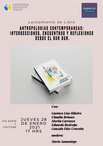 """Lanzamiento de libro """"Antropología contemporánea"""""""