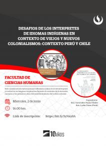 Participación DEI en conversatorio internacional